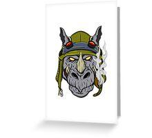 Rocksteady Greeting Card