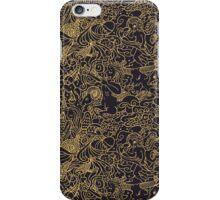 Black Zodiac iPhone Case/Skin