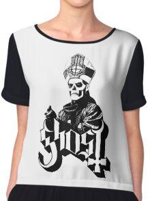 Papa Emeritus II (Ghost Ghost BC) Chiffon Top