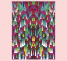 Colorful digital art splashing One Piece - Long Sleeve