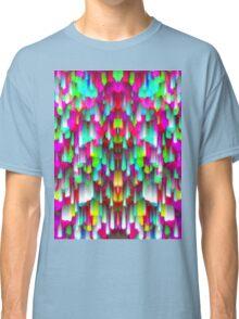 Colorful digital art splashing Classic T-Shirt