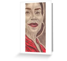 an American actress and stage director Greeting Card