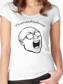 Theneedledrop Tshirt Women's Fitted Scoop T-Shirt