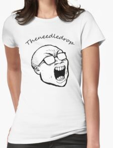Theneedledrop Tshirt Womens Fitted T-Shirt