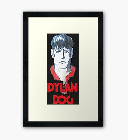 Dylan Dog Framed Print