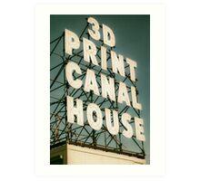 3D Printing ad Art Print