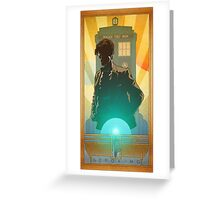 Doctor Who GERONIMO! Greeting Card