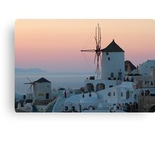 Peaceful Evening Canvas Print