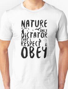 Nature the Dictator - Skyward Unisex T-Shirt