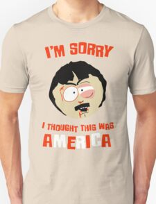 I'm sorry, i tought this was America Unisex T-Shirt