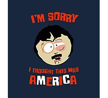 I'm sorry, i tought this was America Photographic Print
