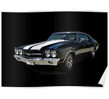1970 Chevrolet Chevelle SS [on black] Poster