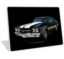 1970 Chevrolet Chevelle SS [on black] Laptop Skin