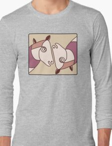 Horse Painting Replica Long Sleeve T-Shirt