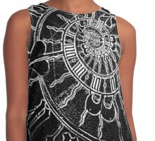 The Passage of Time (blk/wht) Contrast Tank