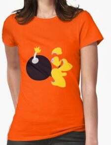 Bomb Man Womens Fitted T-Shirt