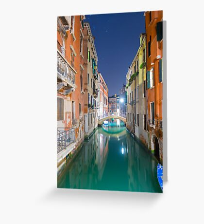 Water canal Greeting Card