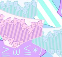 Pastel Panty Attack! Sticker