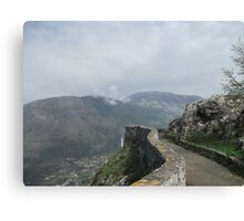 The Great Wall of Italy Canvas Print
