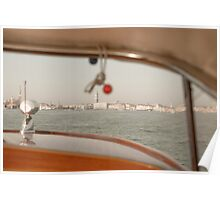 Taxi boat Poster