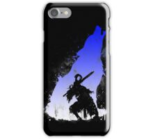 The walker of abyss VERSION WHITE/BLU iPhone Case/Skin