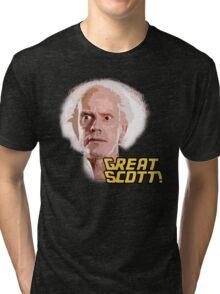Great Scott! Tri-blend T-Shirt