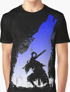 The walker of abyss VERSION WHITE/BLU Graphic T-Shirt