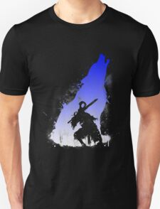 The walker of abyss VERSION WHITE/BLU Unisex T-Shirt