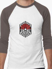 Screened Pokeball Men's Baseball ¾ T-Shirt