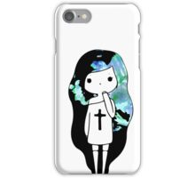Shades of Blue Watercolor Sweater iPhone Case/Skin