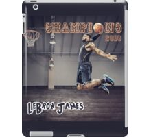 LeBron James | Cleveland Cavaliers 2016 NBA Champions iPad Case/Skin