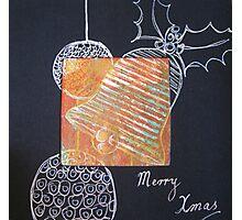 Xmas Card Design 5 by Heatherian Photographic Print