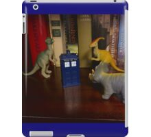 Dinosaurs have the TARDIS iPad Case/Skin