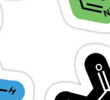 DNA Nucleic Acid Molecule Stickers Sticker