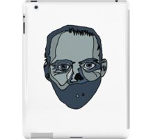 Hannibal Lecter (Done by Tablet) iPad Case/Skin
