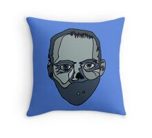 Hannibal Lecter (Done by Tablet) Throw Pillow