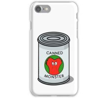 CANNED MONSTER iPhone Case/Skin
