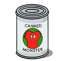 CANNED MONSTER Photographic Print