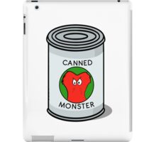 CANNED MONSTER iPad Case/Skin