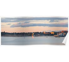 Corio Bay Sunrise Panorama Poster