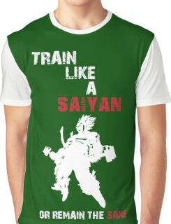 SAIYAN TRAINING Graphic T-Shirt