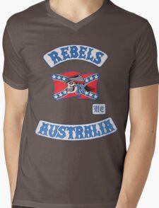 rebel MC supporter  Mens V-Neck T-Shirt