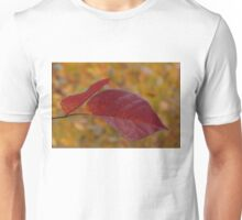 The Warm Glow of Fall - a Horizontal View Unisex T-Shirt