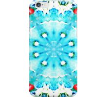 Turquoise kiss iPhone Case/Skin