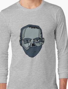Hannibal Lecter (Done by Tablet) Long Sleeve T-Shirt