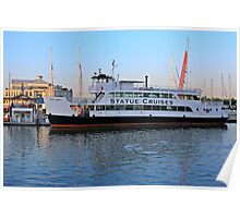 Statue Cruises Miss Liberty Poster