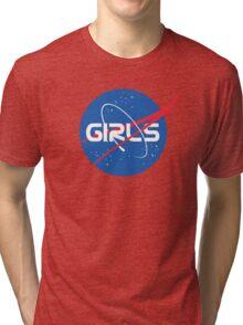 Nasa Girls Tri-blend T-Shirt