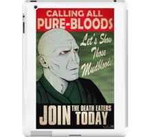 Join the Death Eaters iPad Case/Skin