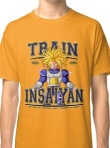 DBZ - Train Insaiyan Capsule Corp. Academy Classic T-Shirt