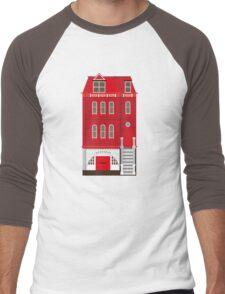 Red House Men's Baseball ¾ T-Shirt